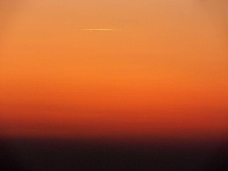 Deutschland, Rot schwarz, Sonnenuntergang, Gold, Wasser, Nordsee