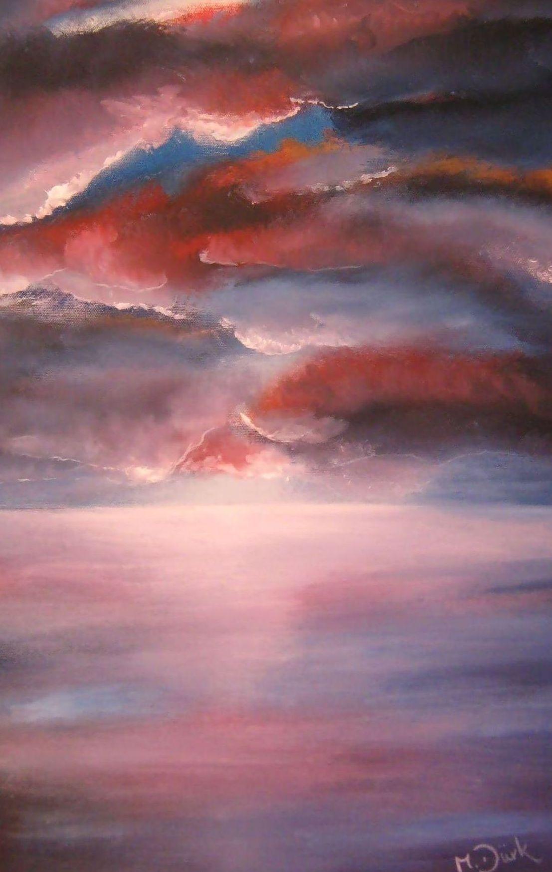 Licht in den wolken