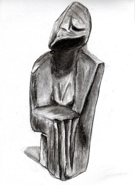 Zeichnung, Skizze, Zeichnungen, Skulptur