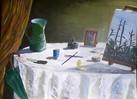 Stillleben, Acrylmalerei, Symbol, Malerei
