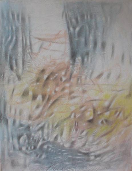 Wasser, Malerei, Glut, Feuer, Abstrakt