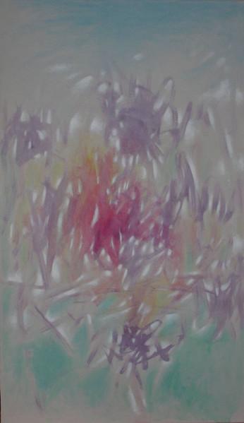 Feuer, Rot, Ölmalerei, Grau, Abstrakt, Malerei