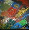 Menschen, Abstrakt, Malerei