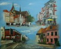 Rostock, Mecklenburg, Stadtansichten, Vorpommern