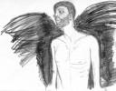 Bleistiftzeichnung, Schwarz weiß, Zeichnungen, Torso