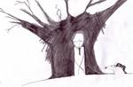 Zeichnungen, Angst