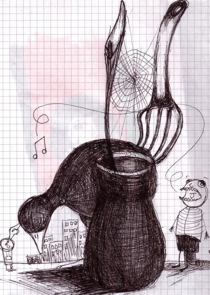 Skizze, Zeichnung, Zeichnungen, Brechen