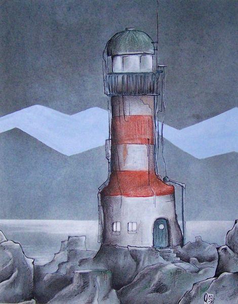 Zeichnungen, Alter, Leuchtturm