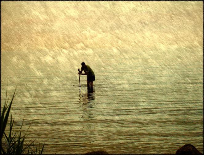 Wasser, Ersuchen, Mann, Menschen, Fotografie, Welt