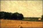 Stroh, Landschaft, Weite, Feld