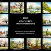 Kalender 2019, Mitteldeutschland, Pinnwand