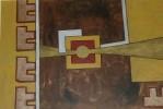 Abstrakt, Braun, Gedeckte, Gold