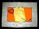 Brief, Dekoration, Füller, Herz