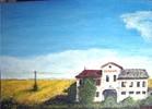 Bauernhof, Gebäude, Italien, Risorta