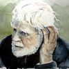 Rügen, Malen, Portrait, Indigo