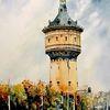 Wasserturm - halle