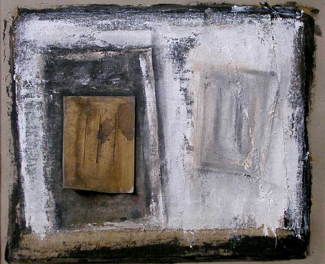 Tagebuch, Gefühl, Braun, Acrylmalerei, Weiß, Abstrakt