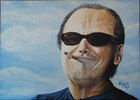 Jack nicholson, Portrait, Malerei