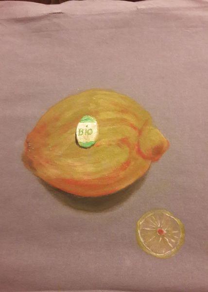 Beutel, Obst, Malerei