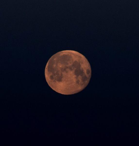 Mond, Himmel, Phase, Nacht, Fotografie, Früh