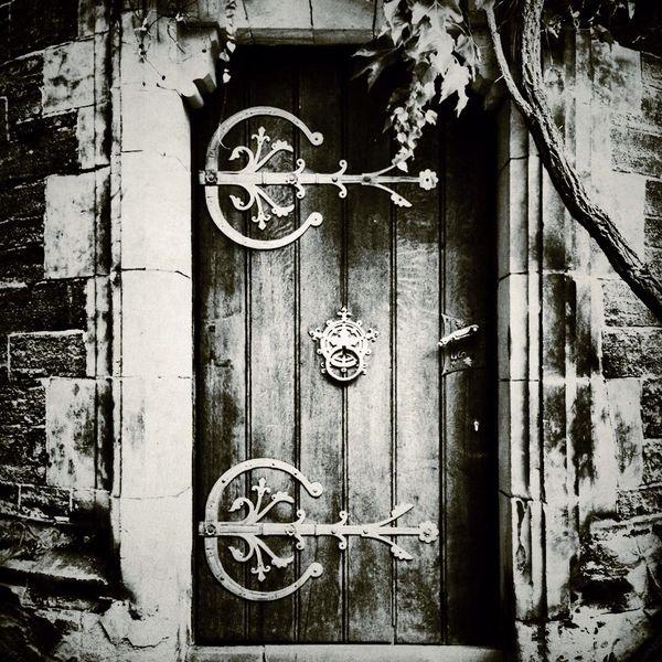 Fotografie, Architektur, Tür, Mauer, Schwarzweiß