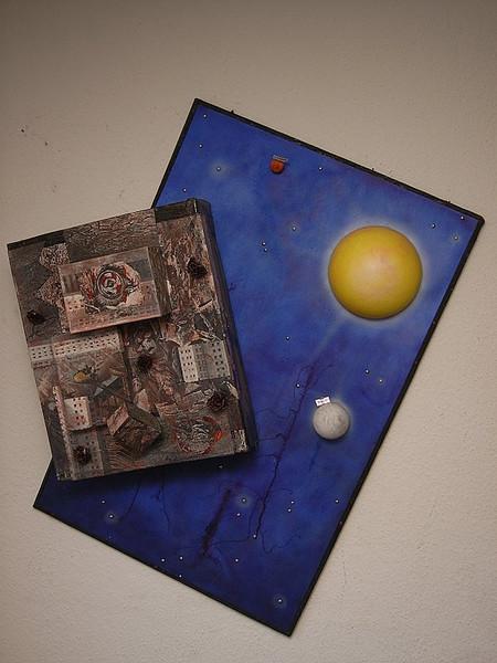 Malerei, Plastik, Acrylmalerei, Surreal
