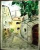 Malerei, Landschaft, Croatien