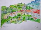 Aquarellmalerei, Landschaft, Malerei, Welt