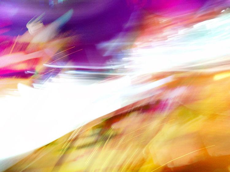 Orange, Unschärfe, Stimmung, Digital, Farben, Pink