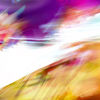 Pink, Overlap, Farben, Gelb