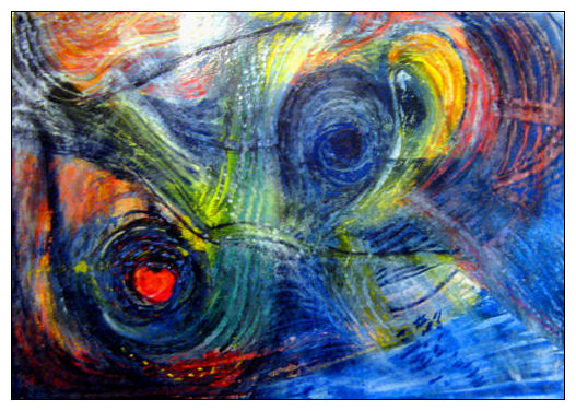 Pastellmalerei, Abstrakt, Malerei