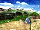 Blumen, Aquarellmalerei, Skizze, Grün