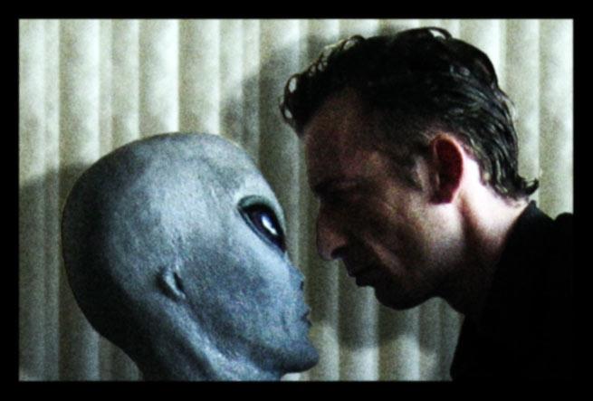 Alien, Dualität, Kommunikation, Subquanten, Portrait, Dämon