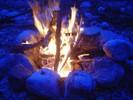 Feuer, Fotografie, Blau