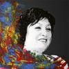 Portrait, Weiß, Abstrakt, Pop art