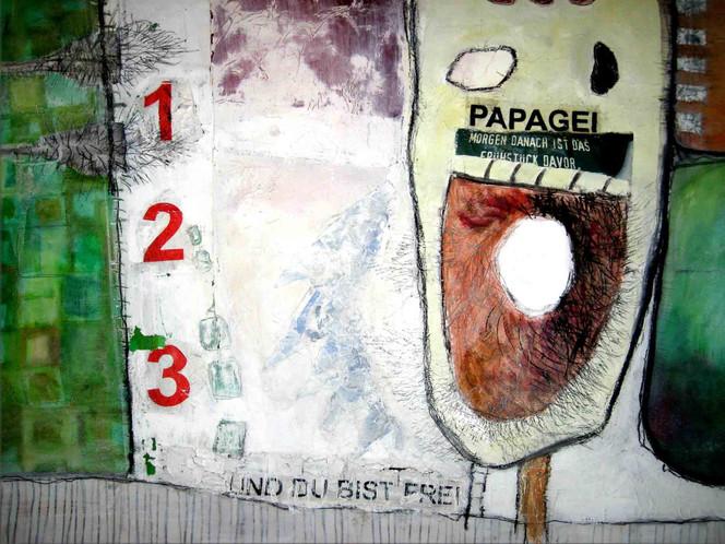 Malerei, Collage