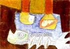 Malerei, Collage, Illustration, Wasser