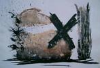 Abstrakt, Malerei, Kreuz