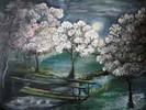 Malerei, Mai, Nacht
