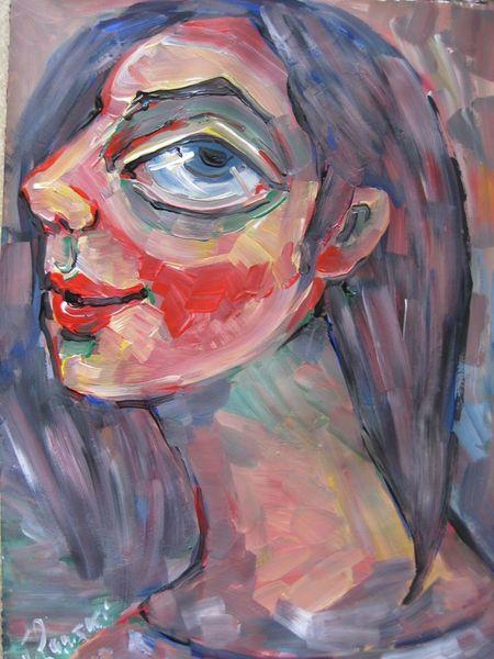 Malerei, Blick
