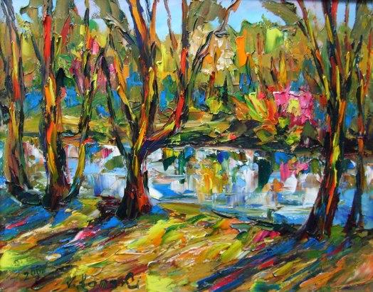 Malerei, Herbstfarben