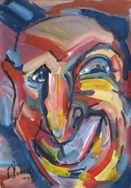 Malerei, Lächeln