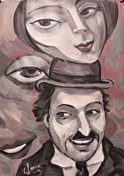 Malerei, Kino, Schwarz
