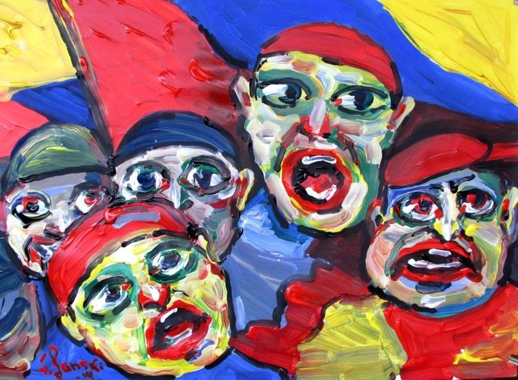 Malerei, Protest