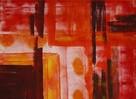 Malerei, Abstrakt, Metro