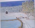 Schnee, Malerei, Winter