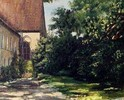 Malerei, Landschaft, Kloster
