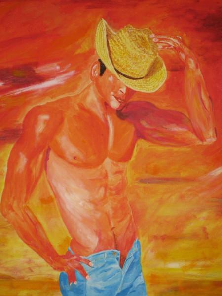 Menschen, Mensch erotik sommer, Erotik, Sommer, Malerei
