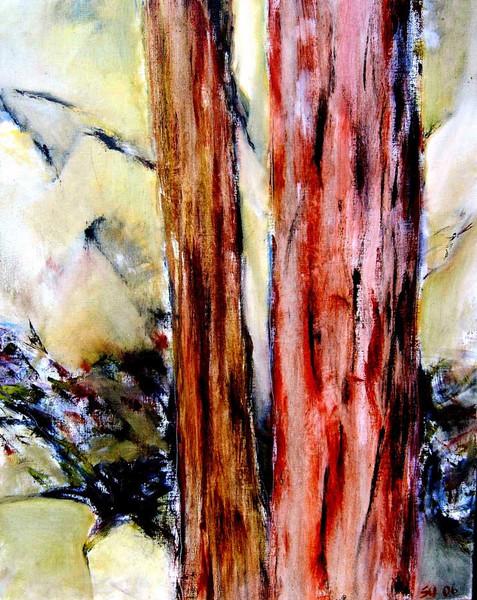 Malerei, Landschaft, Ölmalerei, Abstrakt