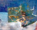 Abstrakt, Ölmalerei, Malerei, Seerosen
